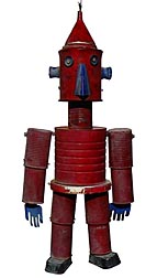 Folk art robot