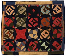 Strong, Folky Quilt