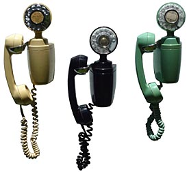 Decorative telephones