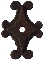 Cast iron architectural tie-in