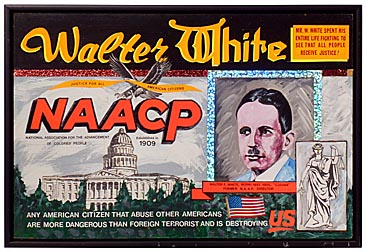 NAACP art by Ed Welch
