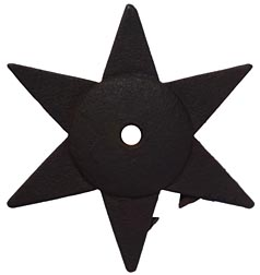 Cast iron star tie-ins