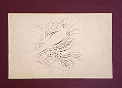 19th c. calligraphy