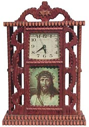Howard Finster clock case