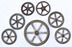 Iron valve wheels