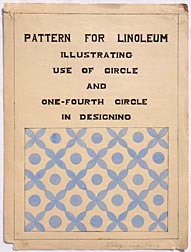 Linoleum pattern by Virginia Love