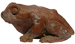Redware toad