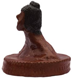Redware bust