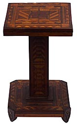 Marquetry stand