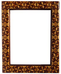 Marquetry frame
